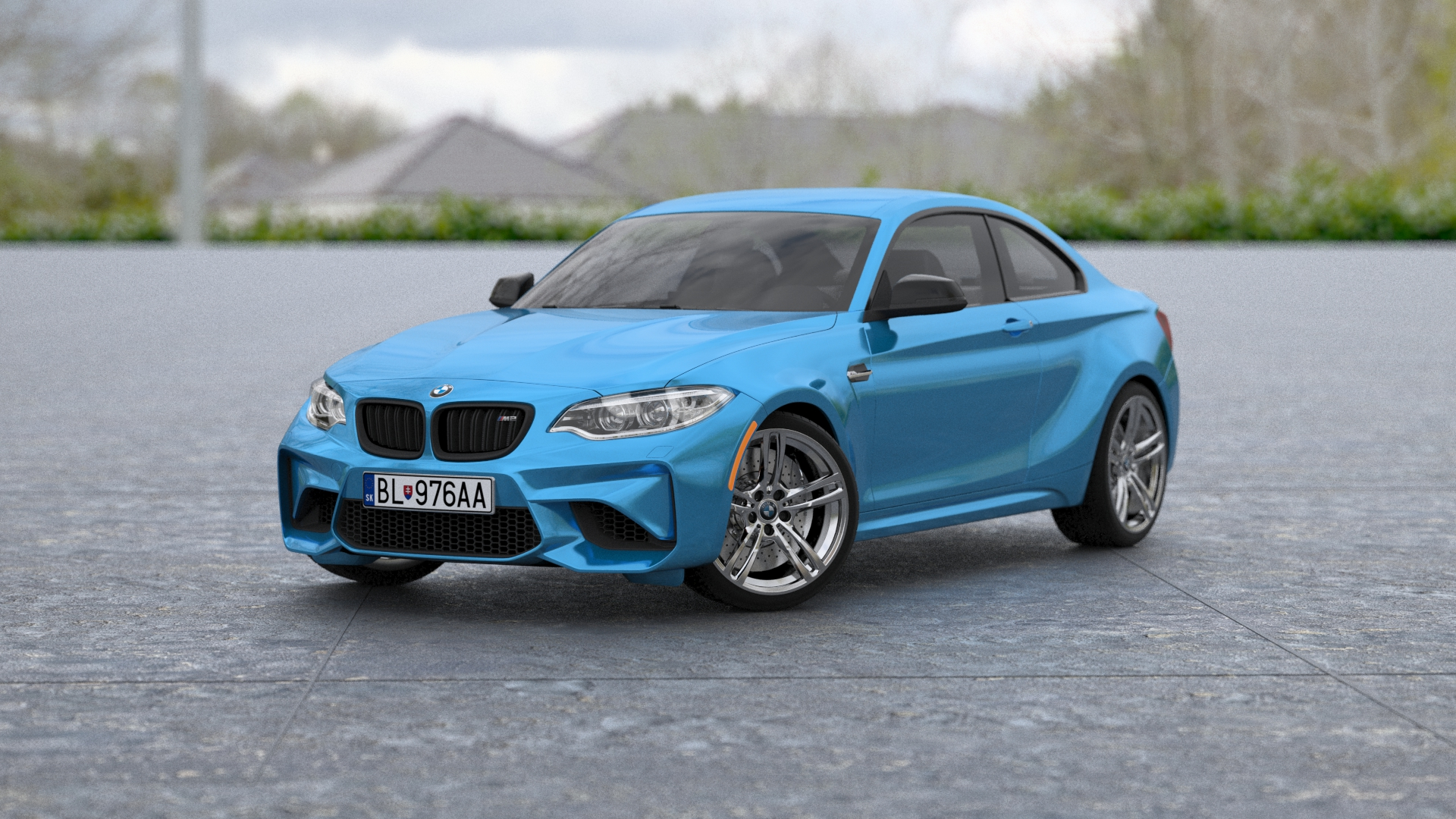 Buy BMW M2 Coupe 2016 3D Model | FrogModel
