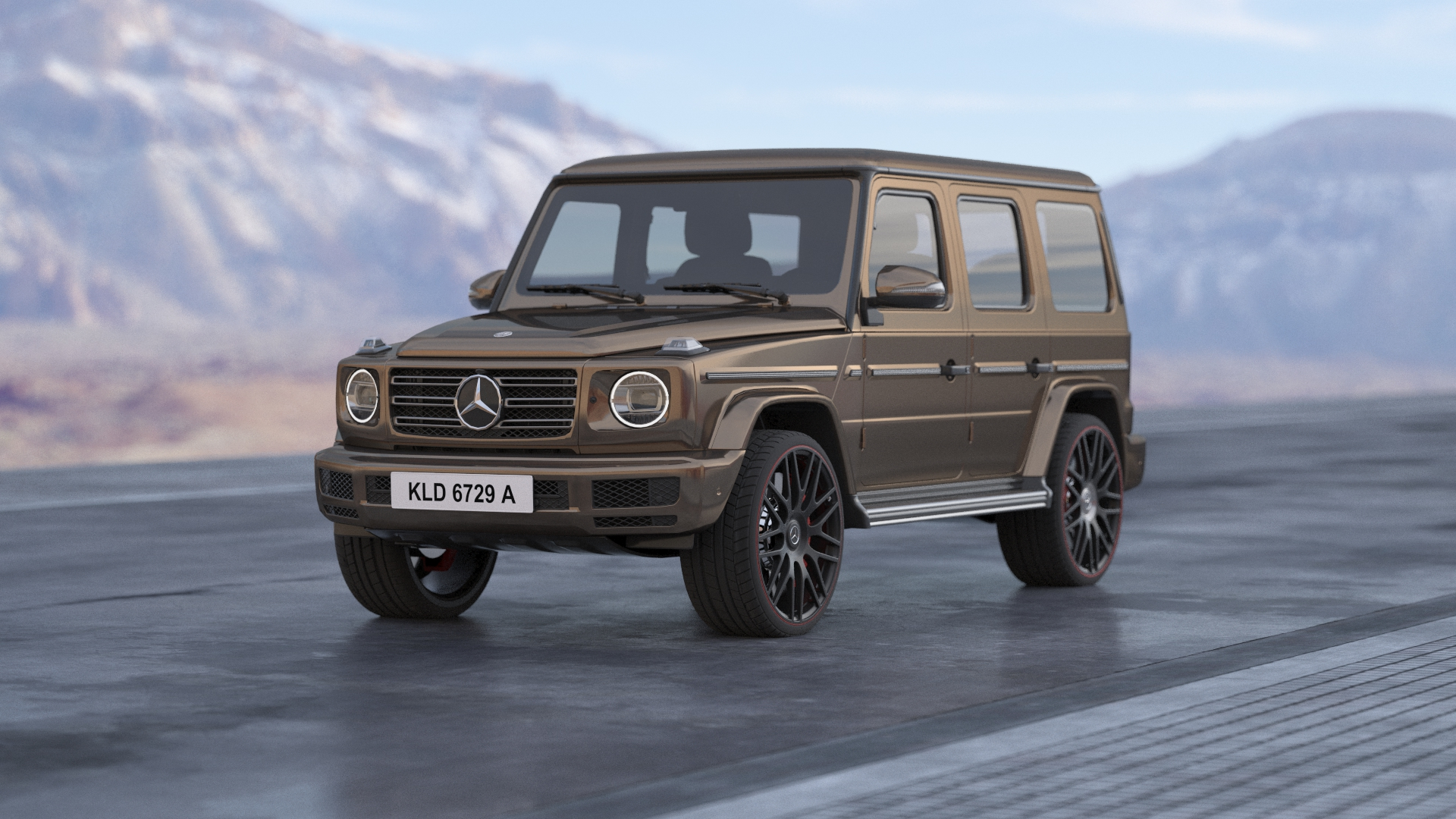 Buy Mercedes G63 3D Model At A Reasonable Price | FrogModel
