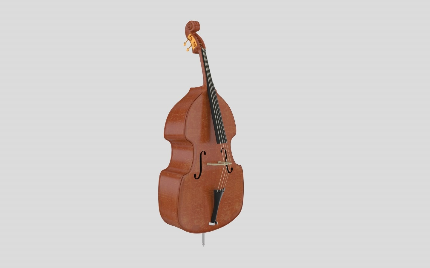 Purchase A 3D Contrabass Model At A Low Price | FrogModel