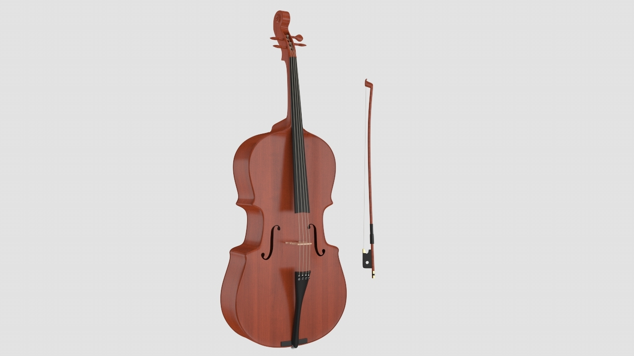 Cello 3D Model For Download | FrogModel