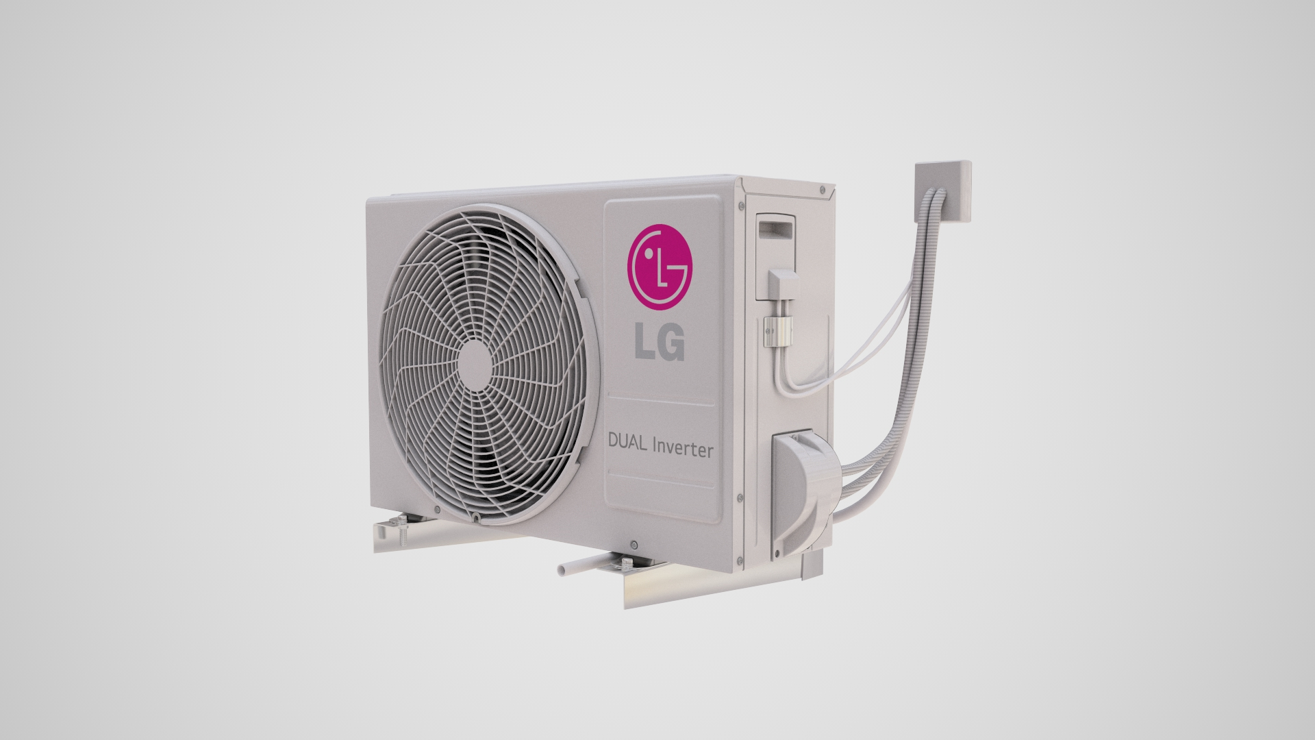 Buy LG Air Condition 3D Model | FrogModel