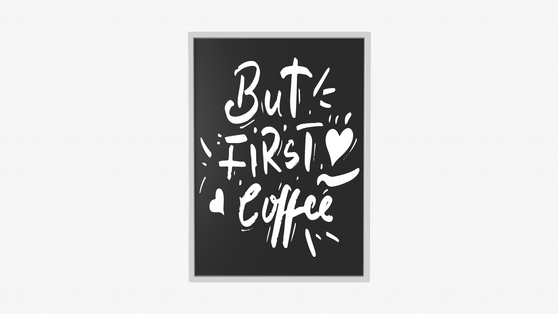 Handwritten Wall Graphic But First Coffee | FrogModel