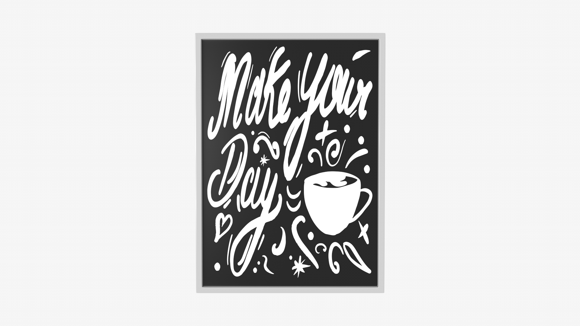 Handwritten Wall Graphic Make your Day | FrogModel