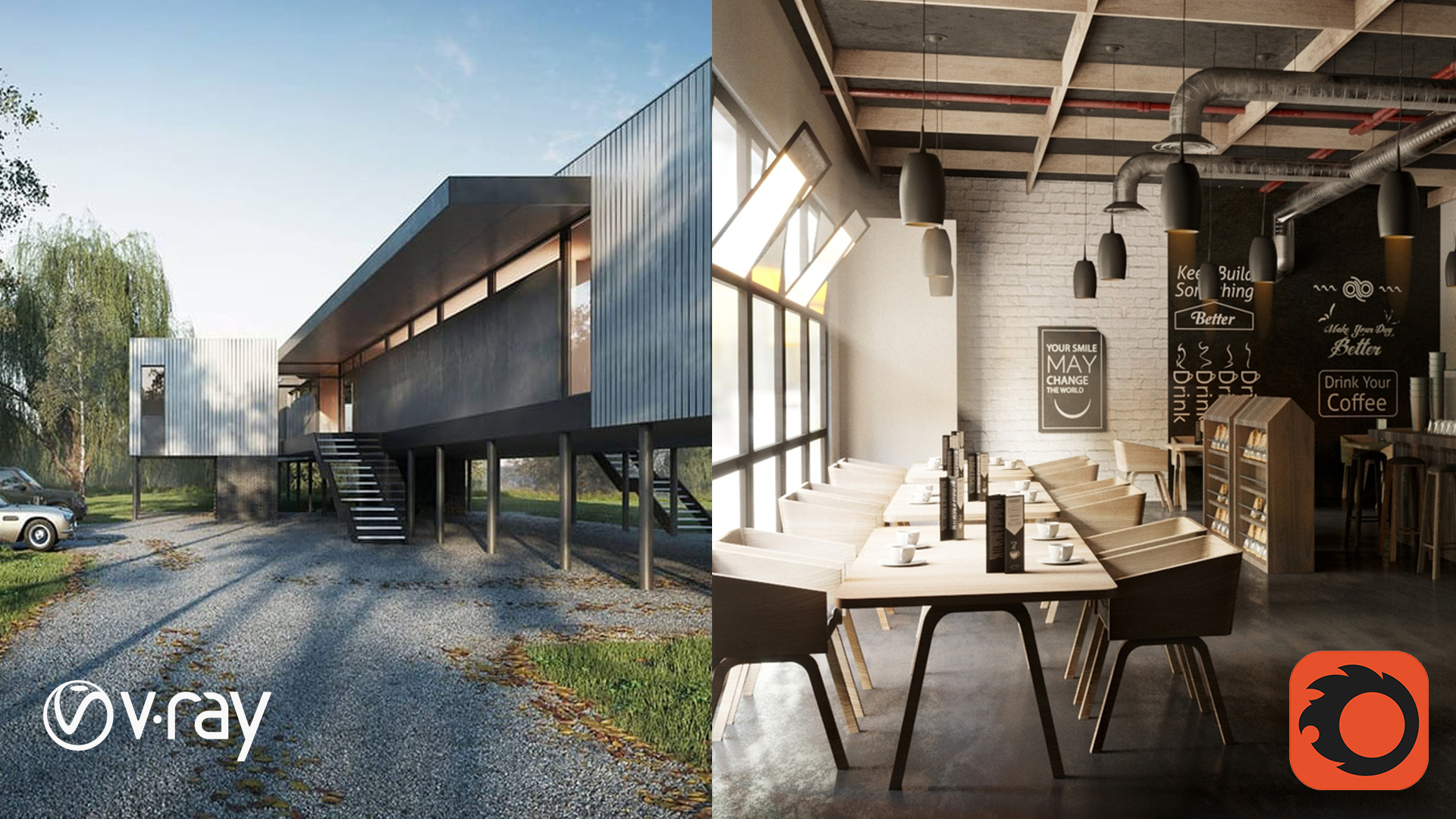 """Comparison between """"Vray Render Plugin"""" and """"Corona Renderer Plugin"""" and which the best for interiors and exterior's"""