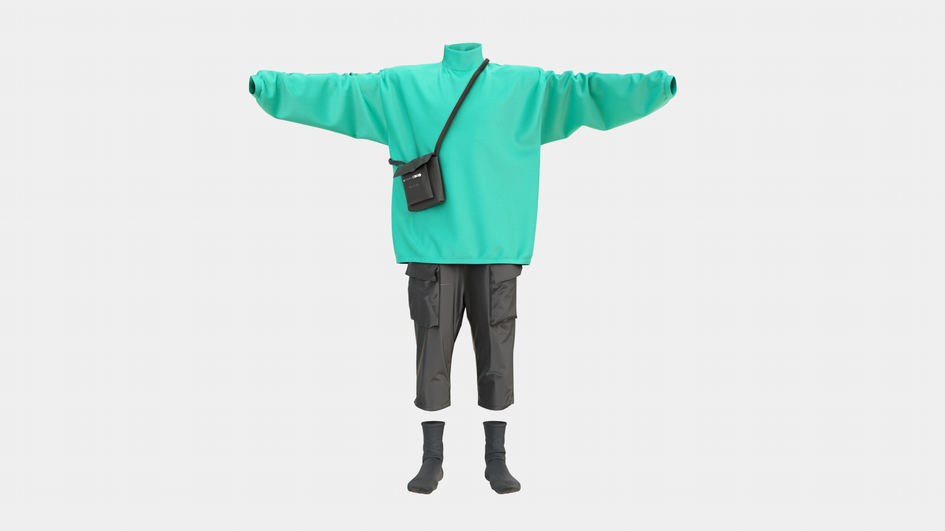 Download Male Outfit 3D Model | Frogmodel