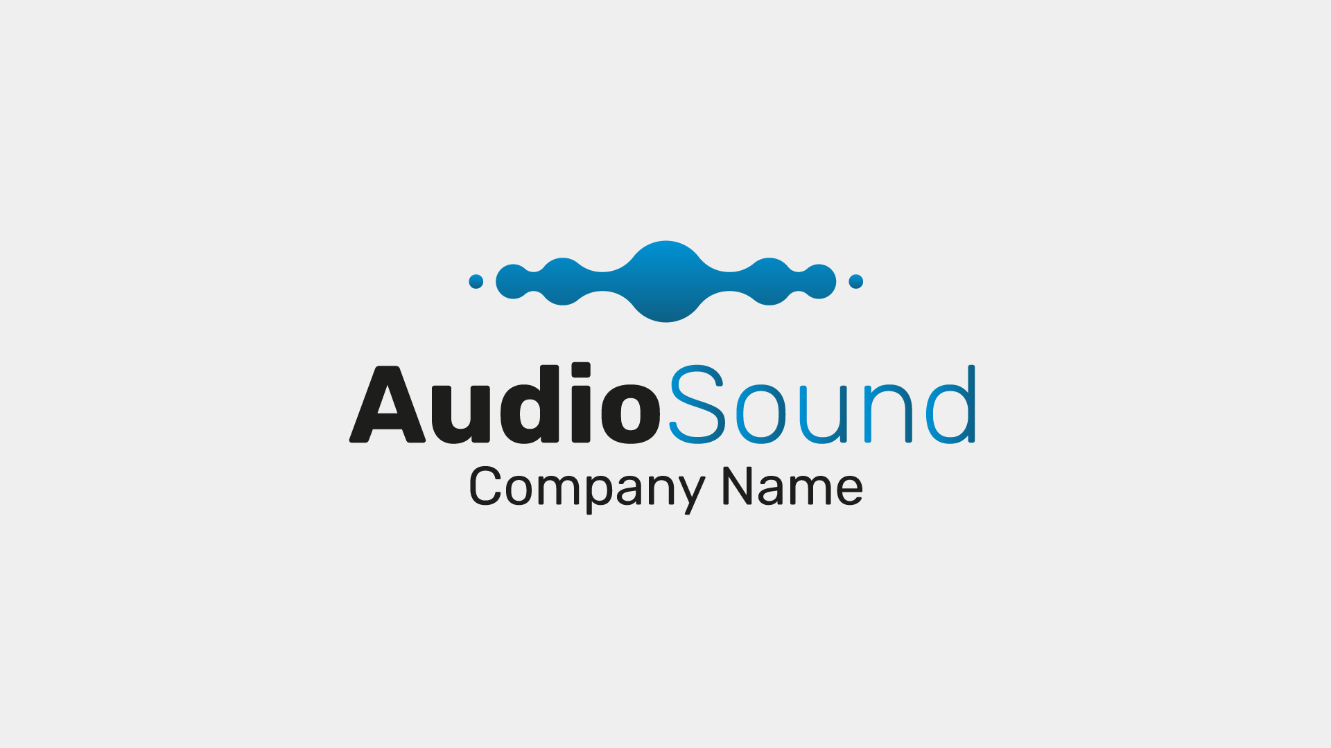Audio Sound Creative Logo for Music Composers, DJ's | FrogModel