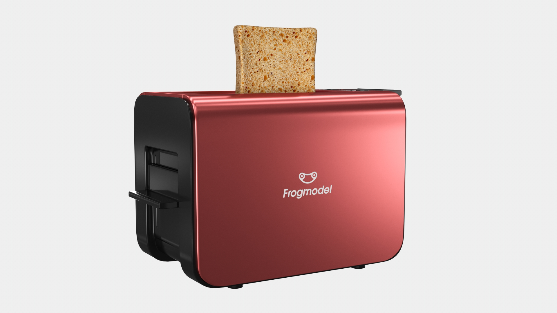 Toaster 3D Model Available for Free Download | FrogModel